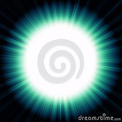 A Night of Bright Light Stock Photo