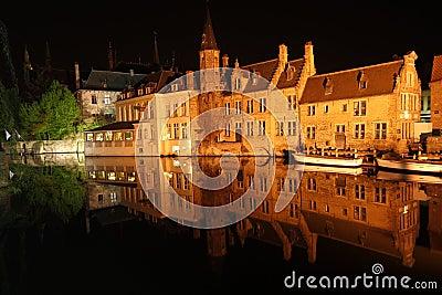 Night Bruges