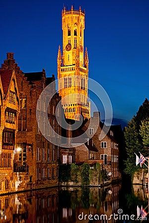 Night Brugge
