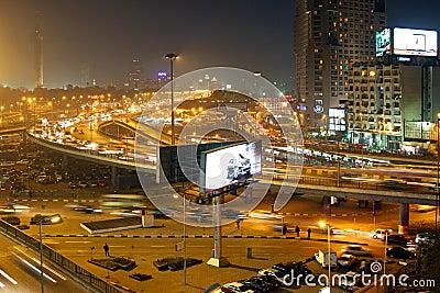 Night in Cairo Editorial Image