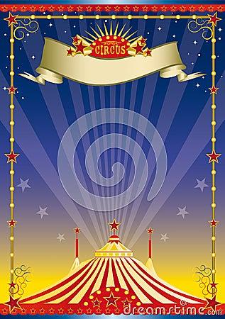 night circus poster stock image image 10327441