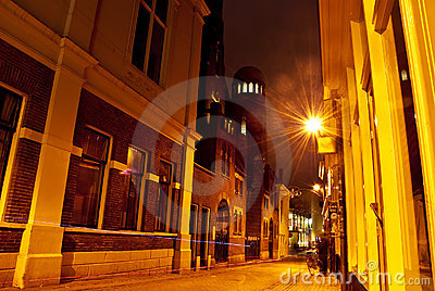 Night cityscape Stock Photo