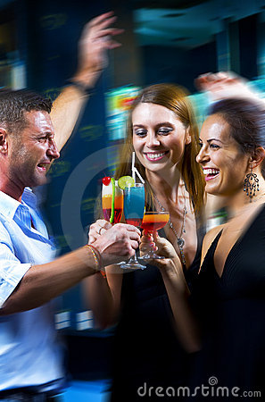 Free Night Club Stock Image - 7271451