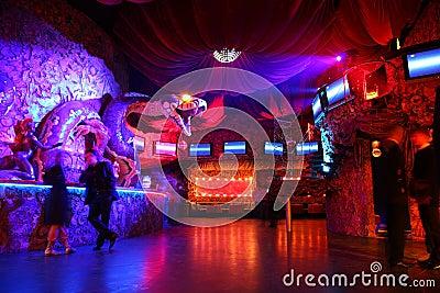 Night club interior