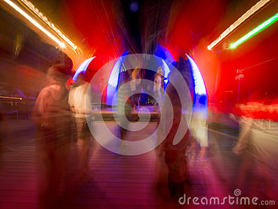 Night-club o dancing di concerto rock