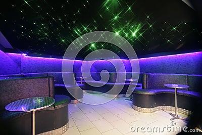 Night Club seating area
