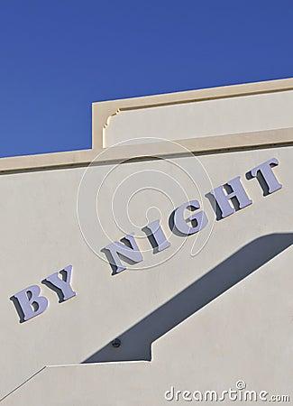 Night club sign
