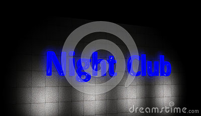 Night club sign