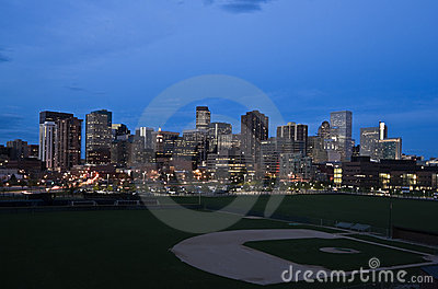 Night in Denver