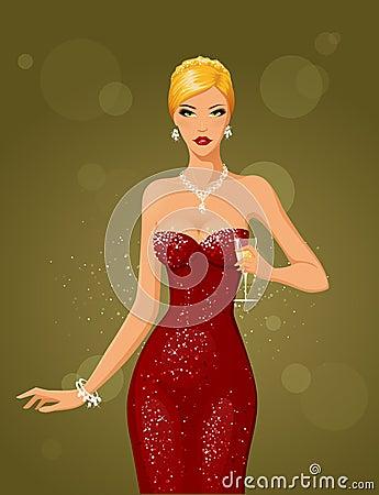Night & diamonds (blonde)