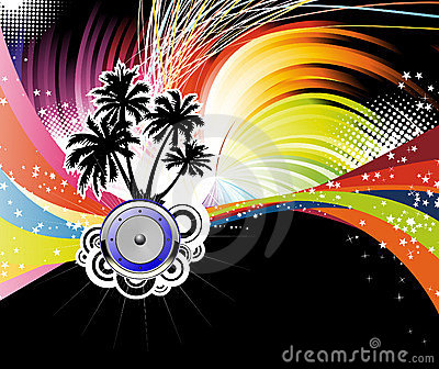 Night disco poster