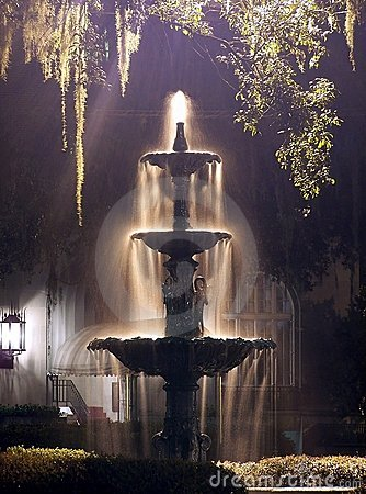 Free Night Fountain Stock Photo - 172230
