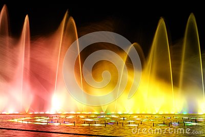 Night fountain_2