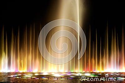 Night fountain_3