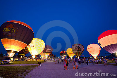 Night glow Editorial Photography