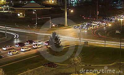 Night Intersection 1