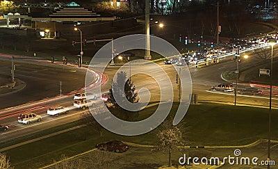 Night Intersection 2
