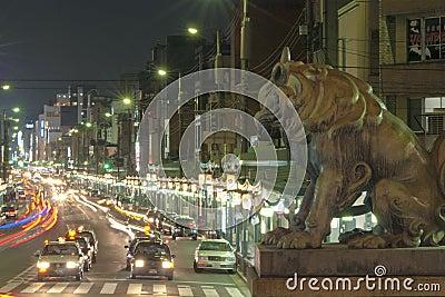 Night Kyoto Editorial Photo