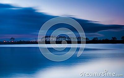 Night on the Lake