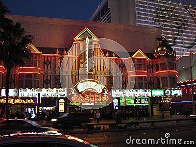 Night Life in Vegas Editorial Stock Photo