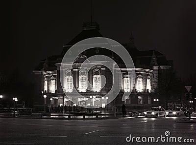 Night lights Hamburg