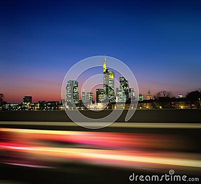 Free Night Megapolis New Stock Images - 10460054