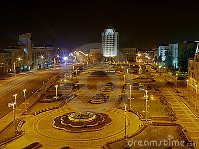Night Minsk