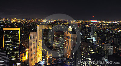 Night New York Skyline