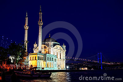 Night at Ortakoy