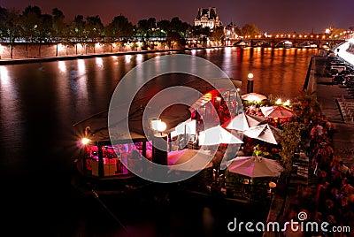 Night party in Paris