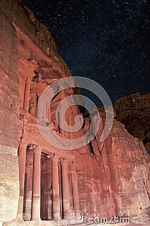 Night in Petra