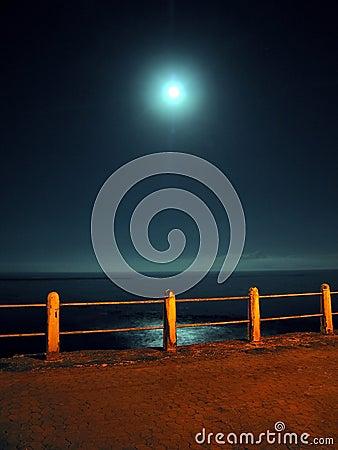 Free Night Pier Royalty Free Stock Photo - 512405