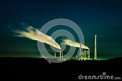 Night power station