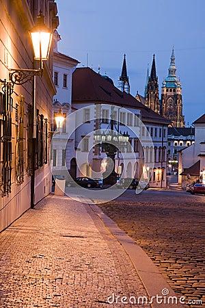 Free Night Prague Royalty Free Stock Photos - 10413478