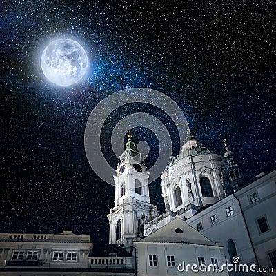Free Night Prague Royalty Free Stock Photos - 90931408