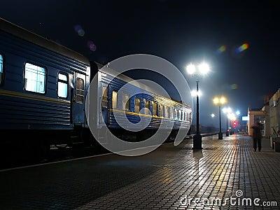 Night Rail-Road Station