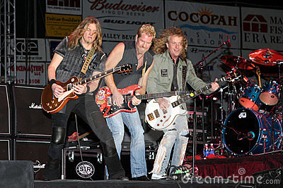 Night Ranger band in concert Editorial Photography
