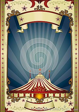 Free Night Retro Circus Big Top Royalty Free Stock Photo - 25004295