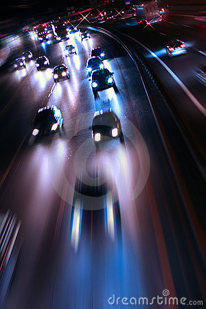 Free Night Road Royalty Free Stock Photos - 4270348