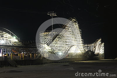 Night Rollercoaster