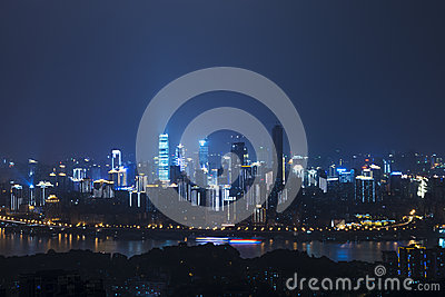 Night scene of Chongqing