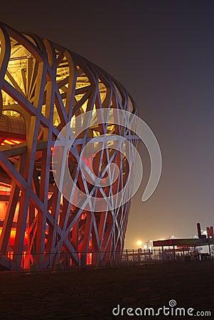 Night Scenes of National Stadium-the Nest