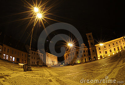 Night in Sibiu