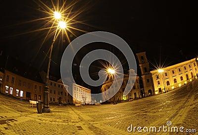 Night in Sibiu