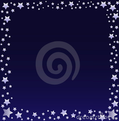 Night Sky Border