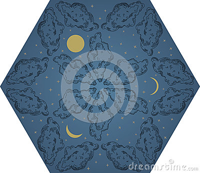 Night sky pattern
