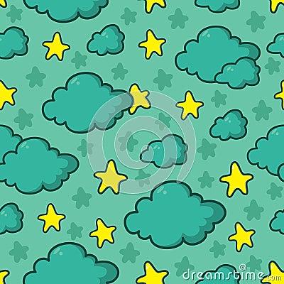 Night sky pattern