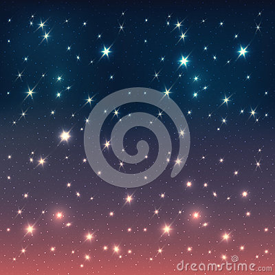 Night sky with stars. Abstract background