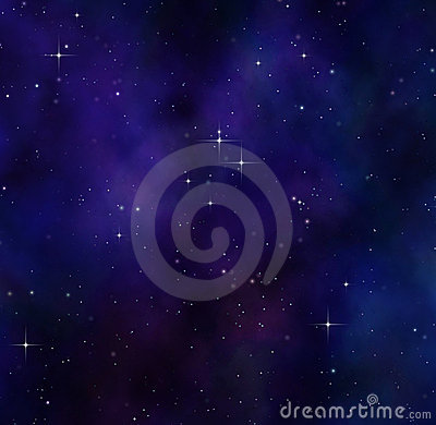 night sky or stars in deep space