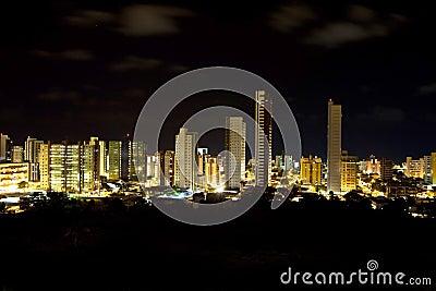 Night Skyline of Joao Pessoa